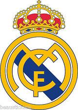 Pegatina autoadhesiva fútbol Real Madrid ( Dimensiones de 10 cm à 130cm altura)