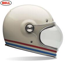 Bell Bullitt Clásico Blanco Perla Rojo Azul Rayas Todos los Tamaños