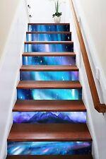 3D Blue Sky Mountain 635 Risers Decoration Photo Mural Vinyl Decal Wallpaper CA