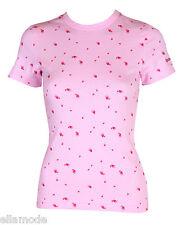 Reebok Women's Pink T Shirt Top UK 8 10 XS Small BNWT Fast Free UK Ship Eu 34 36