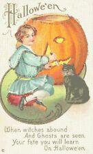 Witches Abound Vintage Halloween Cross-Stitch Pattern