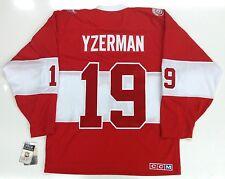 STEVE YZERMAN DETROIT RED WINGS 2014 WINTER CLASSIC ALUMNI GAME CCM JERSEY