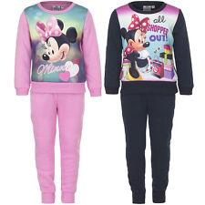 Freizeit Jogginganzug Sport Mädchen Minnie Mouse grau rosa 98 104 116 128 #148