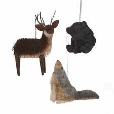 Wilderness Buri Animal Ornament