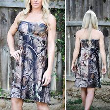 Camo Dress Camouflage Dress Camo Clothing Camo Wedding Camo Bridesmaid Dress