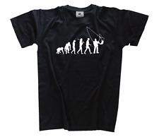 Standard Édition Fischer avec Filet Pêcheur Pêche Evolution tee-Shirt