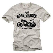 Vintage motocicleta señores t-shirt con XS 650 Chopper-hombres Oldtimer Biker Shirt