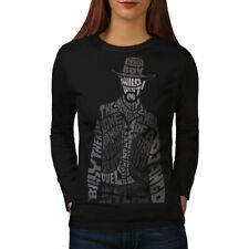 Wild West Cowboy Women Long Sleeve T-shirt NEW | Wellcoda