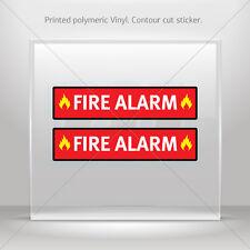 Stickers Sticker Fire Alarm Sign Car Motorbike Bike vinyl bike st5 XX729