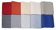 Tessuto Cotone Doppio Canvas Melange Tinta Unita 280x270 cm Rivestimenti Divani