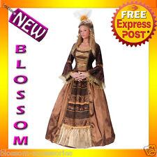 C850 Womens Baroness Noble Lady Renaissance Fancy Dress Adult Costume