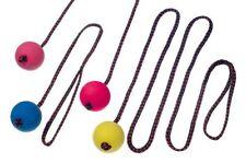 Karlie Flamingo Multi Power Ball mit Seil 60cm  Ø 6cm mit Vanille versch. Farben