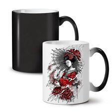 Umbrella Japan NEW Colour Changing Tea Coffee Mug 11 oz | Wellcoda