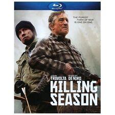 Killing Season (Blu-ray Disc, 2013) Robert De Niro, John Travolta   NEW