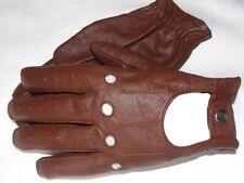 Para hombres cuero genuino Vintage Clásico Moda Guantes De Conducción Chofer S-M-L-XL