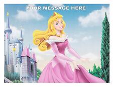 Principessa AURORA Cake Topper Personalizzato a4 Wafer/Glassa Foglio