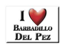 SOUVENIR ESPAÑA CASTILLA Y LEÓN MAGNET SPAIN BARBADILLO DEL PEZ (BURGOS)