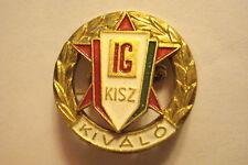 Hungary Hungarian Badge Socialist KISZ Young Guard pin Youth Wing Communist