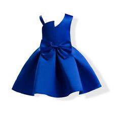 █  Flower Girl Dress Princess Formal Birthday Pageant Holiday Wedding Bridesmaid