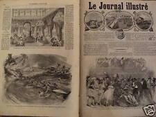 LE JOURNAL ILL 1867 N 159  UNE NUIT DE BAL, A L'OPERA