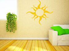 Wall Vinyl Sticker Warm Rays of Sun Light Joy Spring Decor (n095)