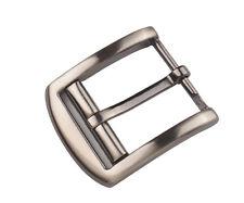 1PCS Mens Gunmetal Alloy Metal Horseshoe Pin Buckle 63x53mm #92905