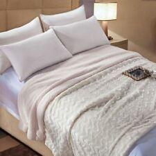 Faux Fur Thick Throw Blanket Queen Super Soft Fluffy Fuzzy Warm Microfiber