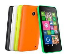 "Unlocked Original Nokia Lumia 630 N630 Mobile Phone Single&Dual Sim 3G 4.5"" 8GB"