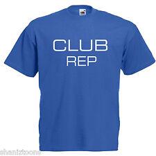 Club Rep Adultos Para Hombre T Shirt 12 Colores Talle S - 3xl