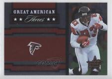 2005 Leaf Rookies & Stars Great American Heroes Red #GAH-2 Alge Crumpler Card