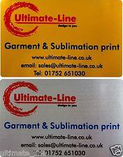 Aluminium Metal BUSINESS CARDS Membership Cards Loyalty PROFESSIONAL Print