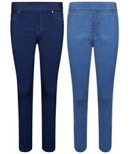 Ladies Ex New Look Skinny Jeggings Womens Stretch Denim Slim Mid Pants Jeans