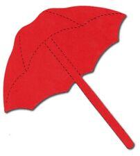 12 Die cut Umbrella sizzix 11.5x11.5cm brolly parasol card making scrap booking