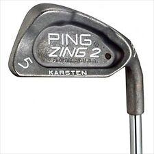 Ping  Zing 2 Red Dot Steel Iron Set Stiff Flex Irons 4-PW  0407874*