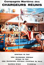 Affiche compagnie maritime des Chargeurs Réunis - Amérique du Sud 2