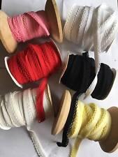 New Bias crochet picot edge cotton bias binding 99P meter fast dispatch.
