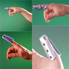 OPPO FINGER THUMB SPLINT twisted bent broken finger splint wrap support