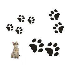 Wandtattoo 8 teiliges Set  Katzenpfoten Pfoten Katze Wandaufkleber Sticker