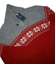 Gant Laine Flocon châle col pull taille XL & XXL (2XL)