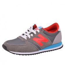 New Balance 420 Runner Sneaker Schuhe Laufschuhe Running Grey/Red U420SNBR