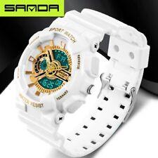 nouvelle marque SANDA de mode de montres hommes LED numérique montre quartz