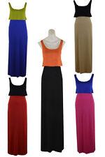 ***BNWT Ladies Women Stretch Maxi  Dress Size 8 _ 10 _ 12 _ 14 _ S/M _ M/L ***
