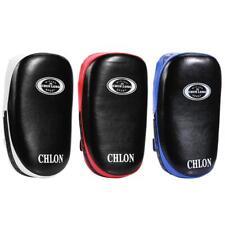 Thai Kick Boxing Training Shield Curve Punch Foot Focus Leather Foam Target Pad
