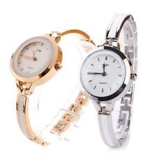 Fashion Women Elegant Ladies Watch Thin Steel Band Quartz Dress Wrist Watches T&