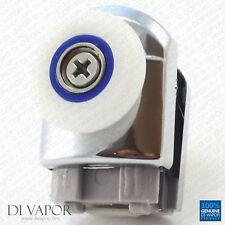Di Vapor (R) Bottom Shower Door Runner   5mm to 6mm Glass   Wheels Enclosures