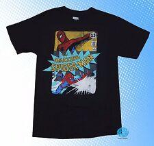 New Marvel Amazing Spider-Man Classic Comic Book Spider man Mens Vintage T-Shirt