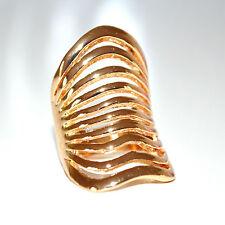 ANELLO donna oro dorato fascia ring anillo anneau pierścień inel кольцо anel 13