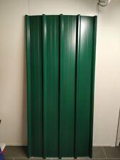 Lamiera grecata per coperture tettoie. Verde Muschio. 200 220 250 300 cm