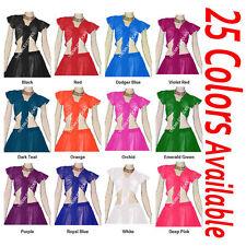 TMS Ruffle Wrap Top Tie Belly Dance Choli Gypsy Haut Orientale Club | 25 Color 3
