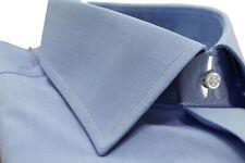 Camicia uomo Bagariny sartoriale cotone Montreal fil a fi regular fit col. cielo